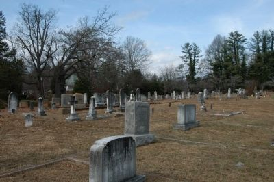 Cemetery where Forman Grave is located image. Click for full size.