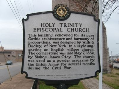 Holy Trinity Episcopal Church Marker image. Click for full size.