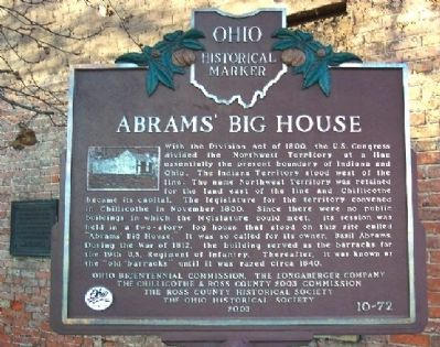 Abrams' Big House Marker image. Click for full size.