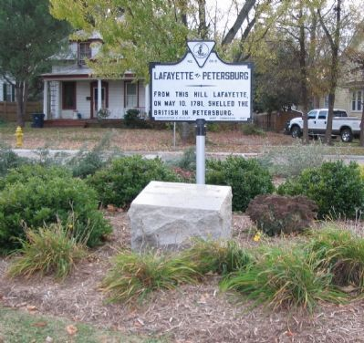 Lafayette At Petersburg Marker image. Click for full size.