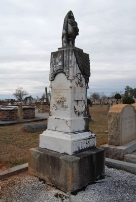 Col. Thomas Thomson<br>Long Cane Cemetery, Abbeville, SC image. Click for full size.
