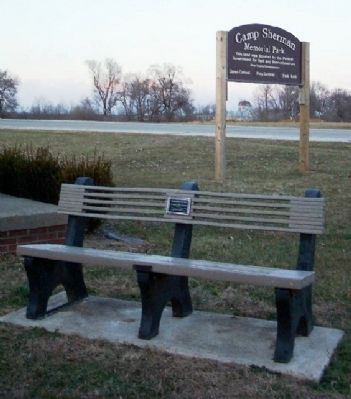 Pathfinders Bench and Marker image. Click for full size.