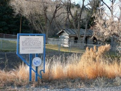 Tannehill Cabin Marker Photo, Click for full size