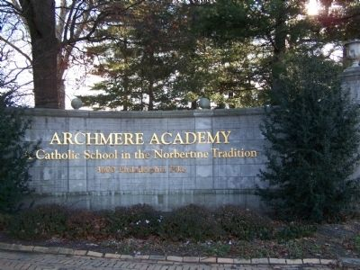 Archmere Academy image. Click for full size.