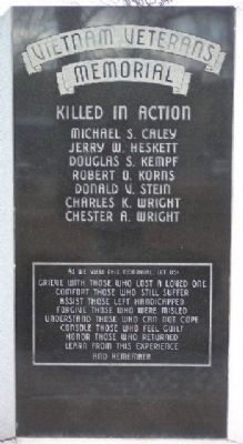 Those Killed in Action image. Click for full size.