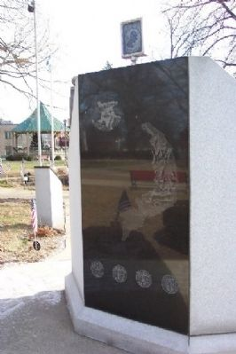 Coshocton County Vietnam War Memorial Reverse image. Click for full size.
