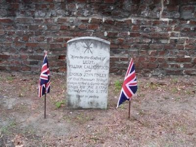 Battle of Port Royal Island at St. Helena's Church Cemetery, Beaufort Photo, Click for full size