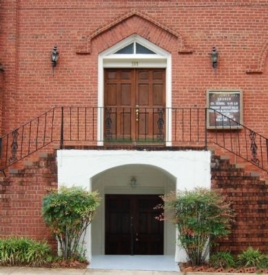 St. James AME Church - Main Entrance image. Click for full size.