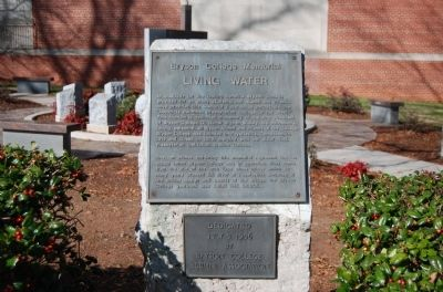 Bryson College Memorial Marker Photo, Click for full size