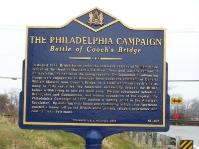 The Philadelphia Campaign Marker Photo, Click for full size