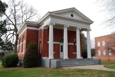 Erskine College -<br>Euphemian Literary Society Hall (1912) Photo, Click for full size