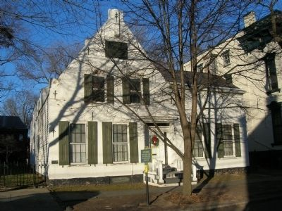 Yates House - Schenectady's Stockade Historic District image. Click for full size.