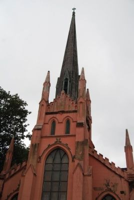 Trinity Episcopal Church -<br>End of Trinity Street, Off Abbeville Square image. Click for full size.