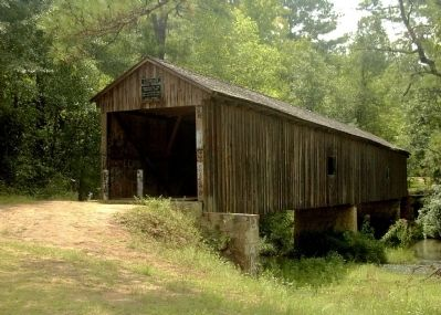Coheelee Creek Covered Bridge image. Click for full size.