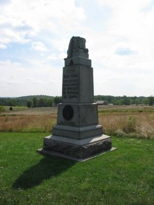10th New York Infantry Monument image. Click for full size.