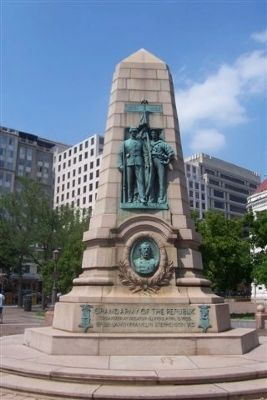 Grand Army of the Republic Monument image. Click for full size.