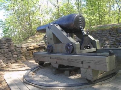 Cannon at Drewry's Bluff image. Click for full size.