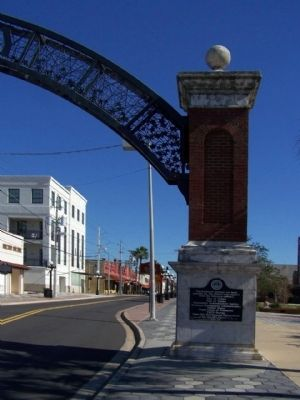 Ybor City Historic Gateway Marker image. Click for full size.