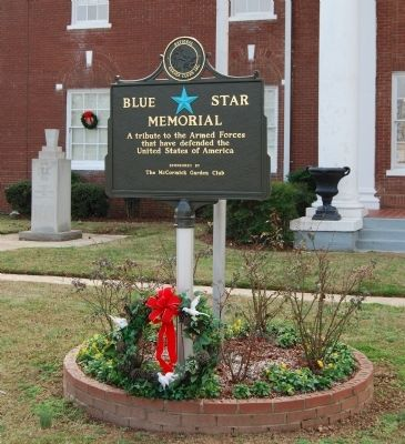 Nearby Blue Star Memorial Marker image. Click for full size.