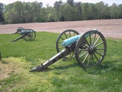 Union Artillery at Malvern Hill Photo, Click for full size