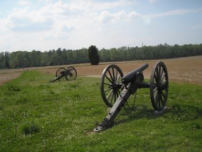 Union Cannons on Malvern Hill Photo, Click for full size
