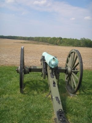 Cannon Near the Marker image. Click for full size.