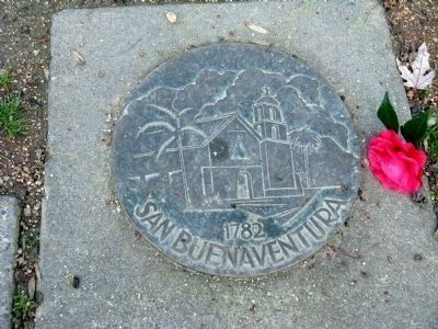 San Buenaventura - 1782 image. Click for full size.