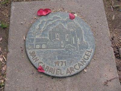 San Gabriel Arcangel - 1771 image. Click for full size.