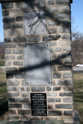 Passenger Pigeon Marker Photo, Click for full size