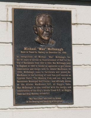 "Michael ""Mac"" McDonagh Marker Photo, Click for full size"