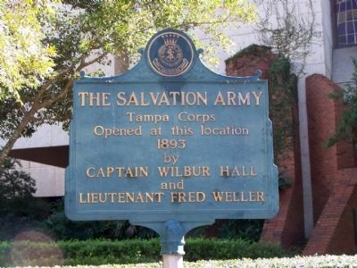 The Salvation Army Marker image. Click for full size.