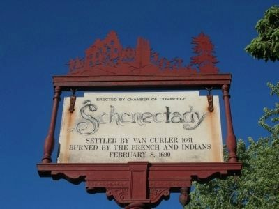 Schenectady Marker image. Click for full size.