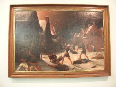 Schenectady Massacre Painting image. Click for full size.