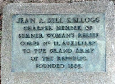 Jean A. Bell Kellogg Marker image. Click for full size.