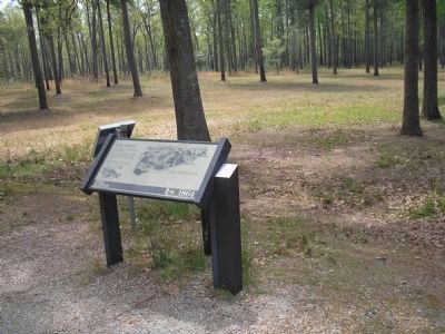 Marker on the Cold Harbor Battlefield image. Click for full size.