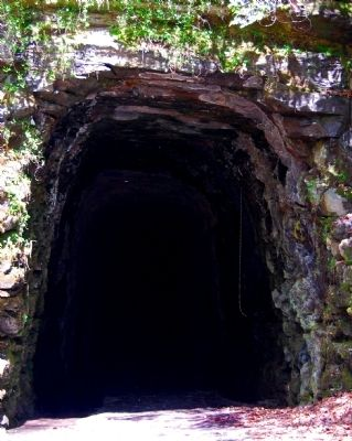 Stumphouse Mountain Tunnel Entrance Photo, Click for full size