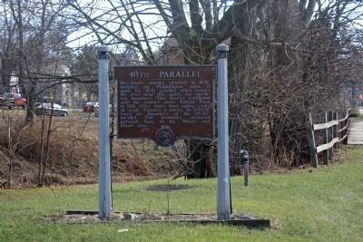 40th Parallel Marker image. Click for full size.