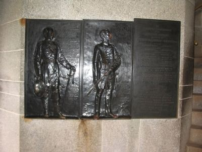 Reliefs of Gens Butterfield and Barlow image. Click for full size.