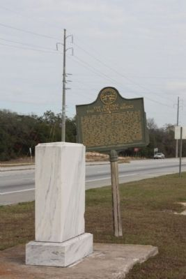 Franklinia Altamaha Marker, looking north along US 301/ US 25 / GA 38 image. Click for full size.
