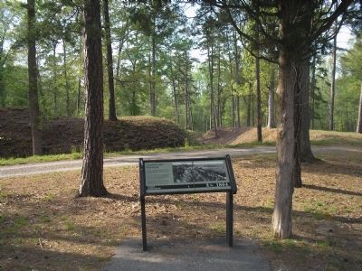 Marker at Fort Johnson image. Click for full size.
