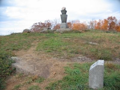 99th Pennsylvania Infantry Monument and Position Marker image. Click for full size.