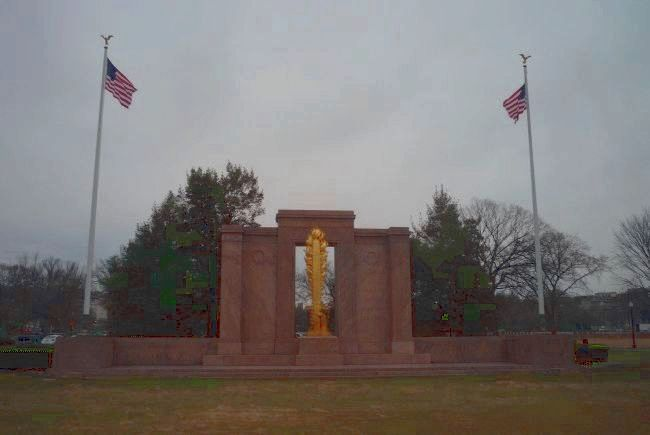 Second Infantry Division Memorial Photo, Click for full size