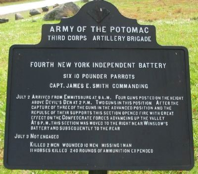 Fourth New York Independent Battery Tablet image. Click for full size.