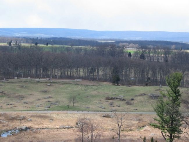 The Tablet Seen from Little Round Top image. Click for full size.