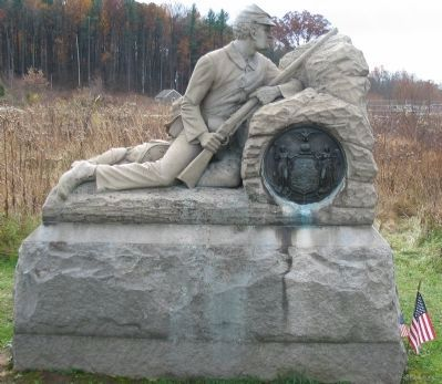40th New York Infantry Monument image. Click for full size.