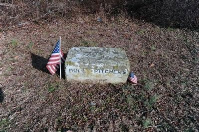 Molly Pitcher's Spring Marker Photo, Click for full size