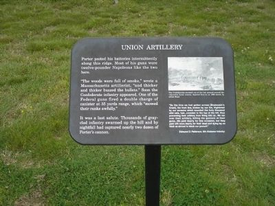 Union Artillery Marker image. Click for full size.