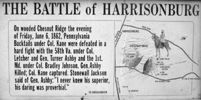 Battle of Harrisonburg Photo, Click for full size