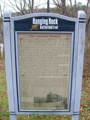 The Catawba Branch Marker Photo, Click for full size