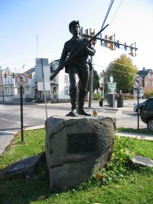 26th Pennsylvania Emergency Infantry Monument Photo, Click for full size